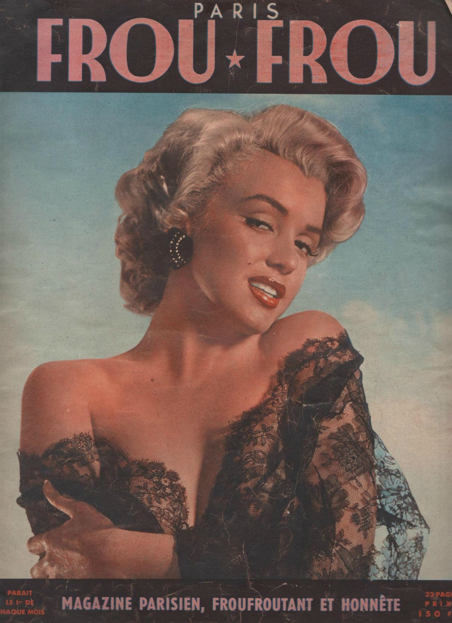 "Marilyn Mag "" Frou-Frou"" (Fr) 1953 - Marilyn La MM que j'Aime * * * Accueil"
