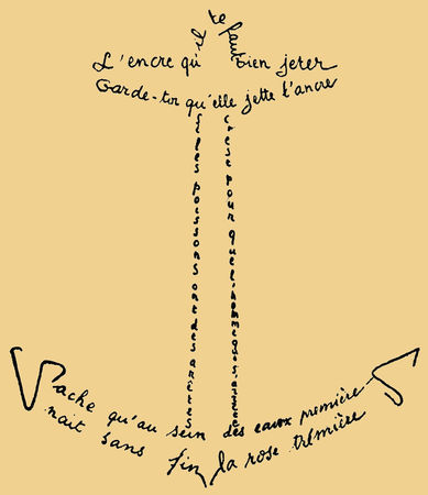 calligramme_Jean_Lescure_encre