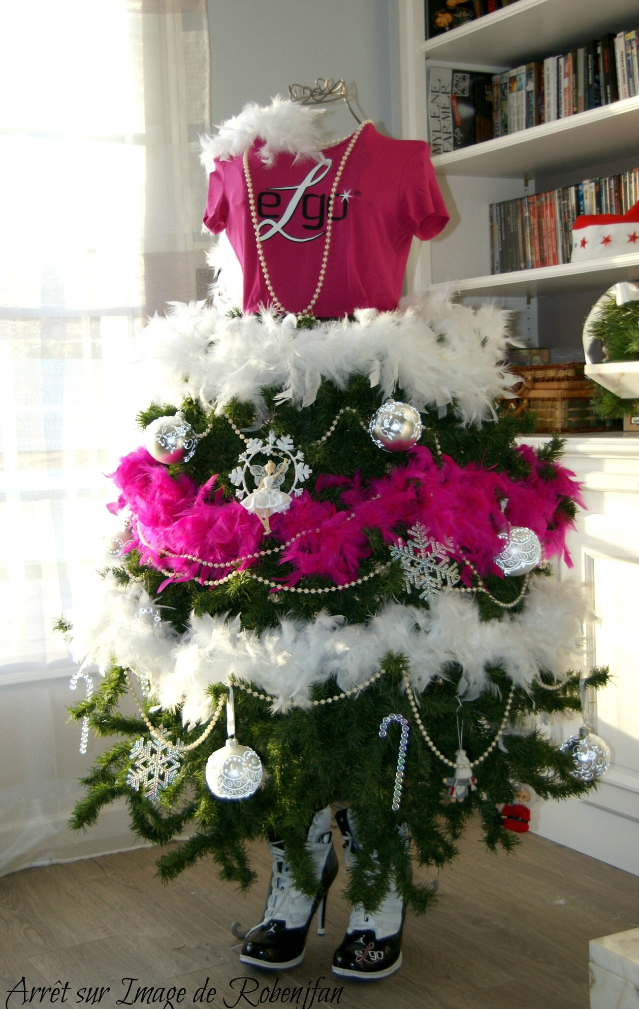 Mon sapin ELGO-GIRLY .... L'avent !