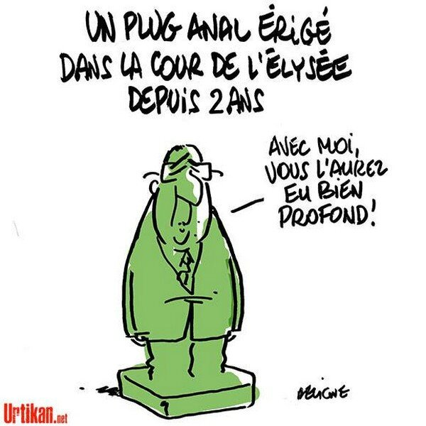 ps hollande humour plug sapin de noel