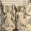 Richesse des pouilles et de l'apulie (20/24). martina franca - piazza santa immaculata et église santo domenico.