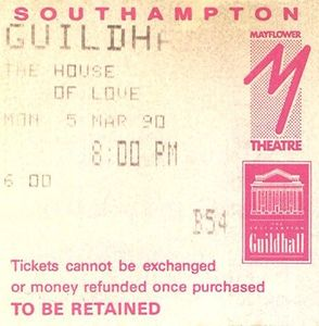 1990_03_House_of_Love_Guildhall_Southampton_Billet