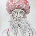 Indien au turban rouge