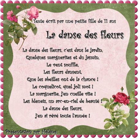 la danse des fleurs