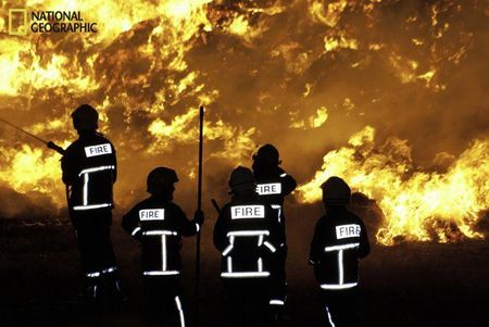 National geographic Fire on ireland