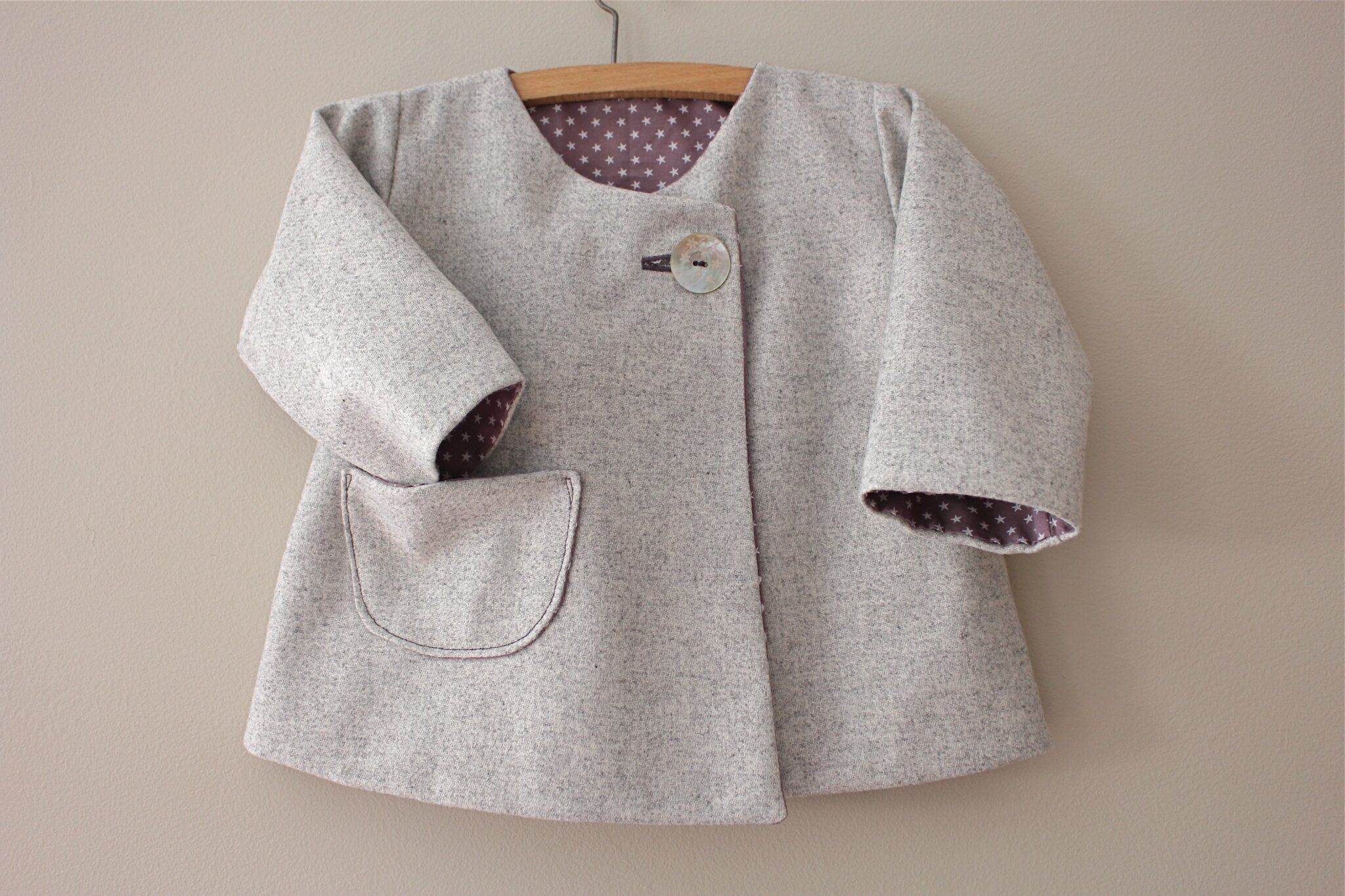 Manteau lainage Intemporels kids