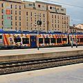 Régiolis B 84500 (601) en livrée PACA, gare de Marseille St Charles