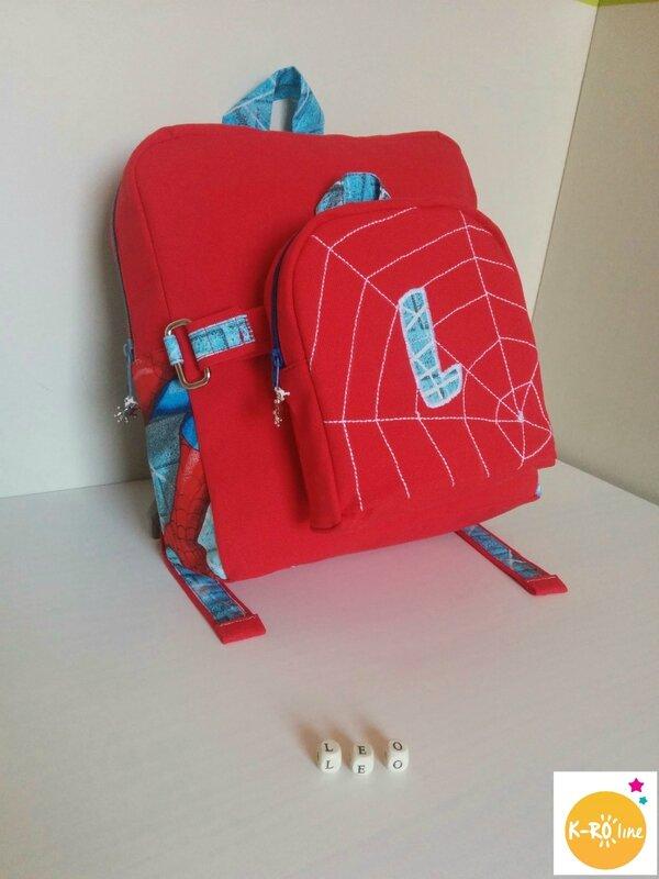 Sac à dos spiderman 8 bis