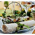 Ma table aux lapinoux.....grand jeu-concours: