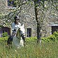balade à cheval médiévale - Abbaye de Hambye (223)