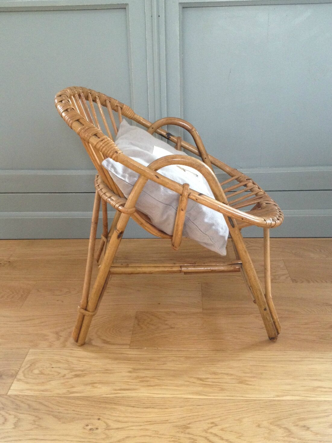 petit fauteuil en rotin la petite factory de julie. Black Bedroom Furniture Sets. Home Design Ideas