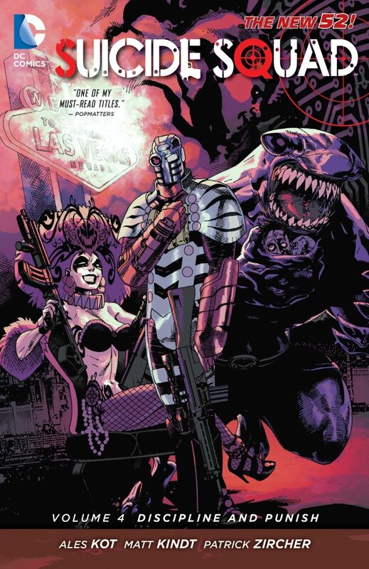 suicide squad vol 4 discipline and punish TP