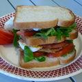 Club sandwich au poulet (ou au veau)