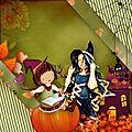 Kit school witches de regina falango