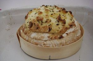 camembert rôti