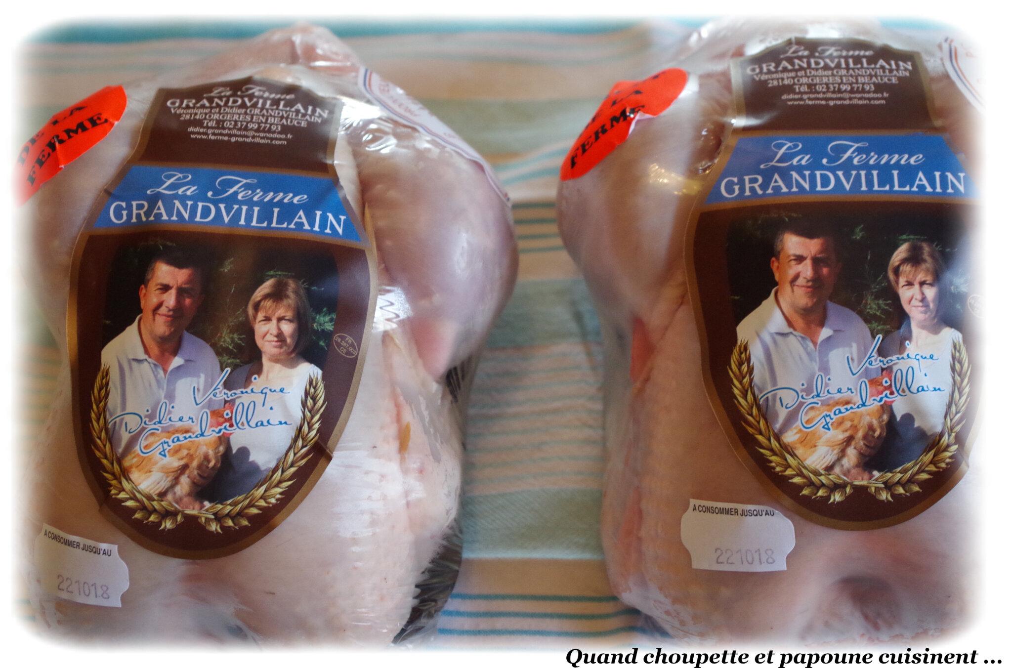UN NOUVEAU COLIS ENCORE CETTE SEMAINE : LA FERME GRANDVILLAIN
