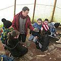 Sortie à darney au centre de la préhistoire pour la classe de ce2