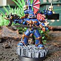 Space marine Tactique Sergent Night Lords 1