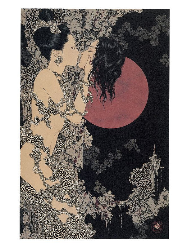CanalBlog Artbook Takato Yamamoto Divertimento For A Martyr002