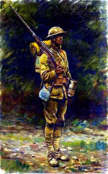 Soldat US Desvarreux