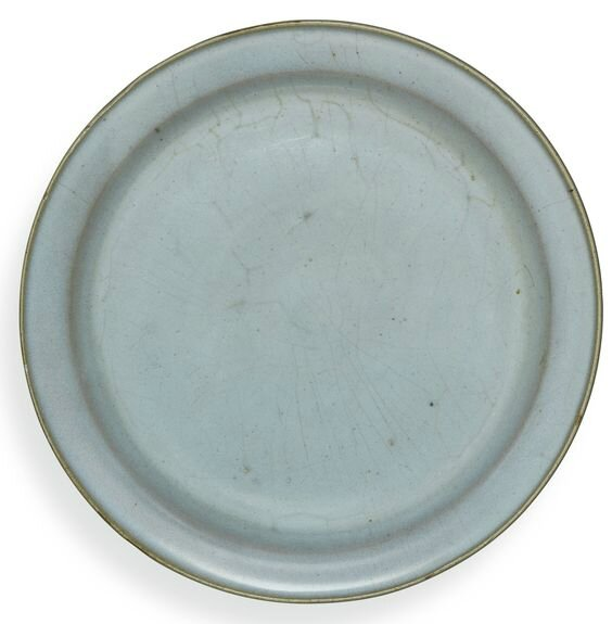 A blue-glazed 'Jun' dish, Song dynasty