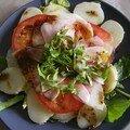 Salade de choux rave et plein de bonnes choses