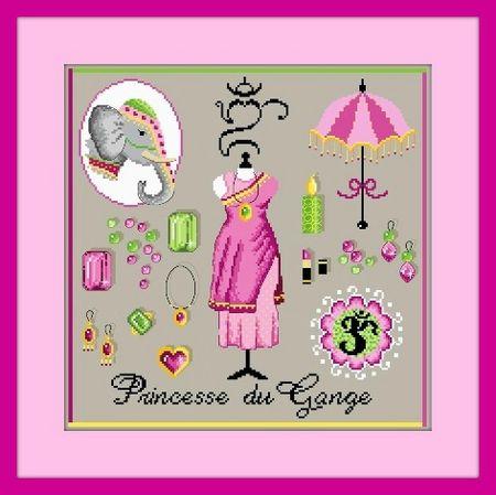 Princesse du Gange G rose