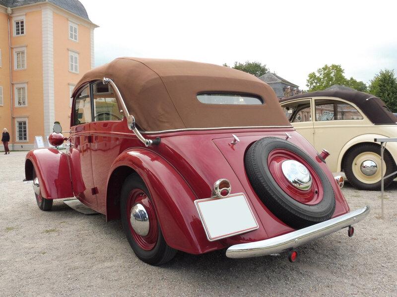STOEWER Greif Junior cabriolet 1938 Schwetzingen (2)
