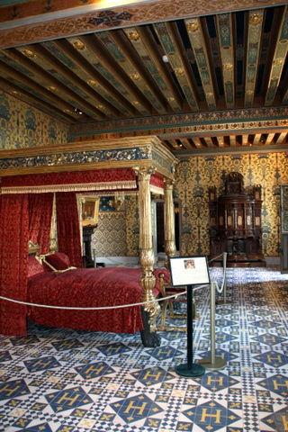 Blois - chambre du roi