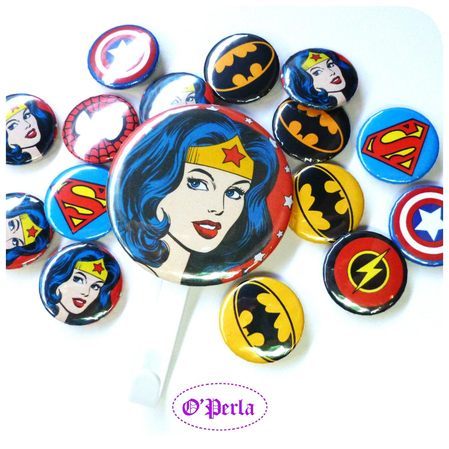 collageCOMMANDES SUPER HEROS