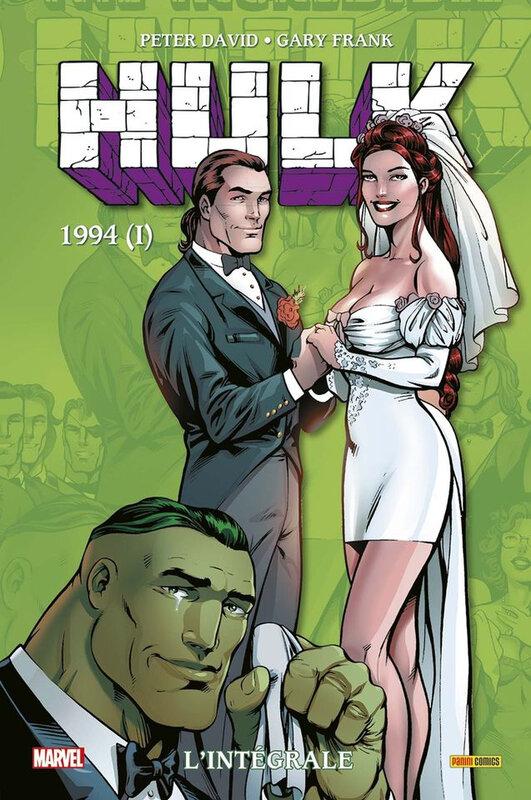 intégrale hulk 1994 vol 1