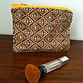 Trousse à maquillage 60's