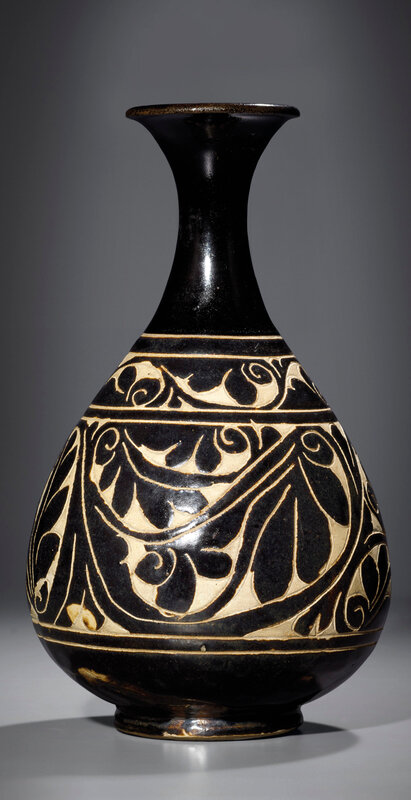 2013_HGK_03263_3284_000(a_rare_cizhou_carved_bottle_vase_yuhuchunping_jin_dynasty094217)
