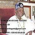 Bienvenu chez le célèbre et compétent maître marabout africain medium voyant togodo du retour affectif et de la richesse rapide