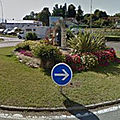 Rond-point à saint-girons