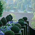 Le jardin de la ballue au beau milieu du bocage breton