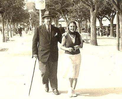 1935 Royan Denise & Lucien