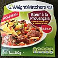 Test plat weight watcher de raynal & roquelaure