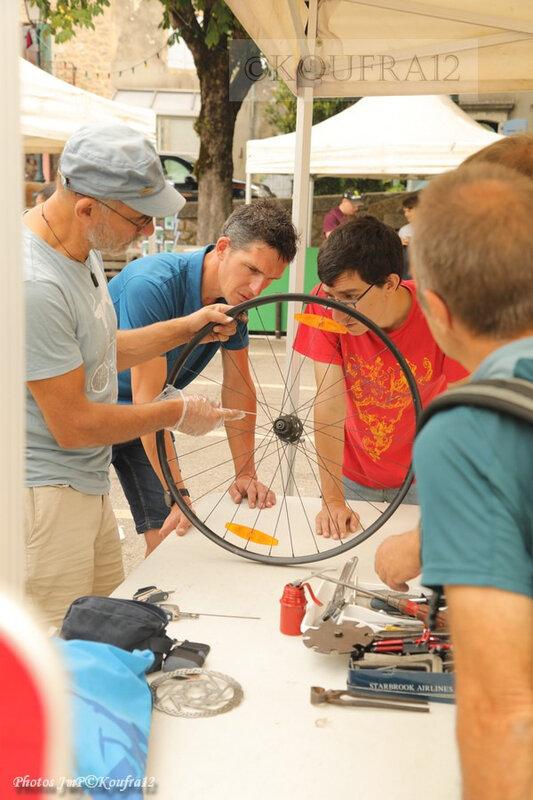 Photos JMP©Koufra 12 - Le Caylar - Festival - Réparation vélo - 26072019 - 0012