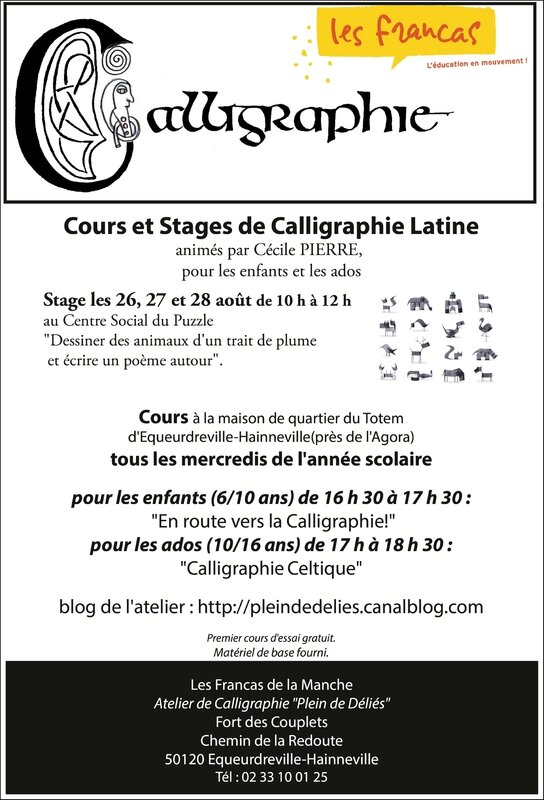 afficheCours Stages