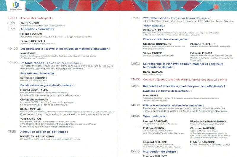 colloque caen 2013 programme