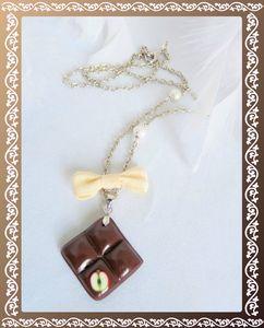 Collier carré de chocolat (6)