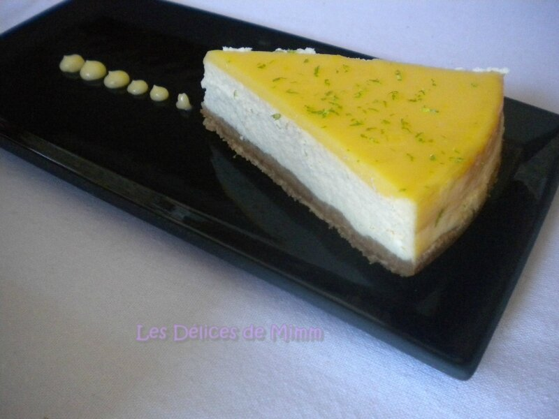 Cheesecake au citron 5