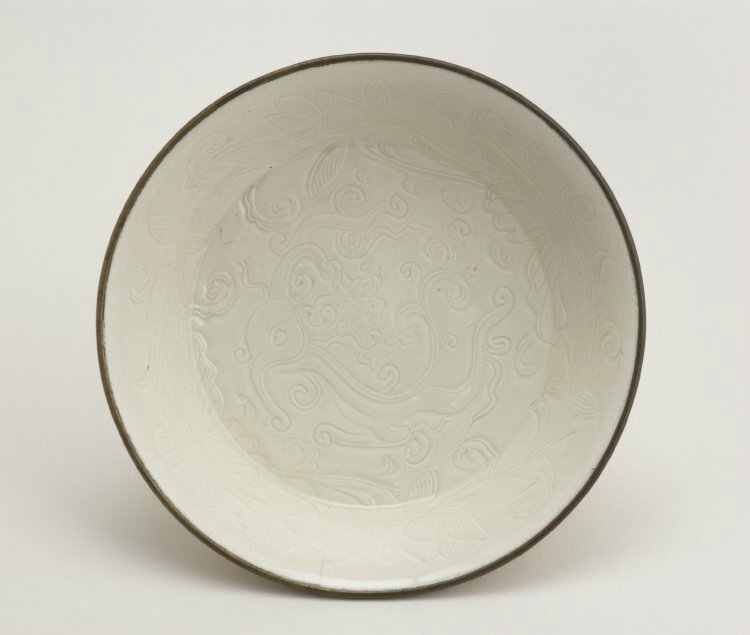 Bowl with dragons, Northern Song dynasty, about AD 1086–1127
