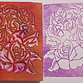 Carver stamp vi : sugar skull rose 2