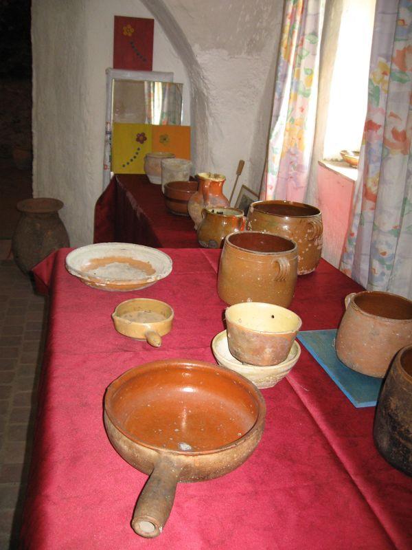 Quelques poteries ...