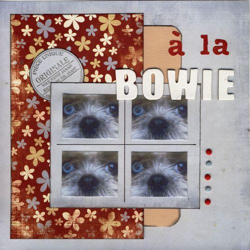 A la Bowie