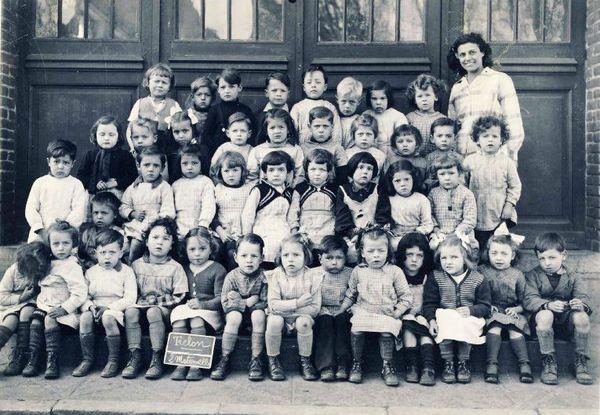 Ecole Maternelle 1951 TRELON - Copie