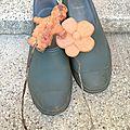 Un été aigre-doux, chaussure