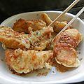 Poulet croustillant sauce épicée